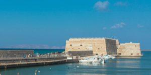 Koules,Fortress.,Heraklion,,Crete,,Greece.