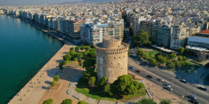 Aerial,Drone,View,Of,Iconic,Historic,Landmark,-,Old,Byzantine
