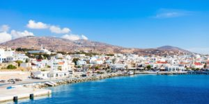 Tinos,Island,Aerial,View.,Tinos,Is,A,Greek,Island,Situated